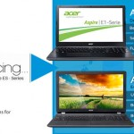 INTRODUCING THE ACER ASPIRE E AND ES SERIES. TAKE A LOOK