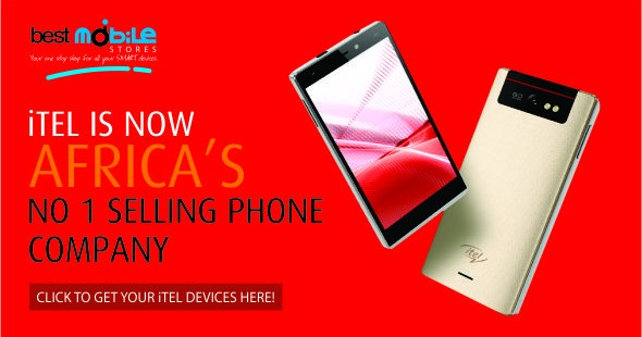 ITEL IS NOW AFRICA'S NO 1 SELLING PHONE COMPANY