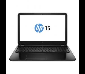 HP 15 Notebook - AC 114NIA | 4GB | 1TB | WIN 10 | 15.6'' | Black