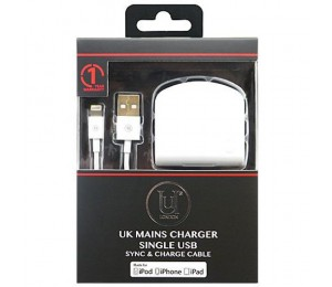 Uunique USB Sync and Charge Cable   Black