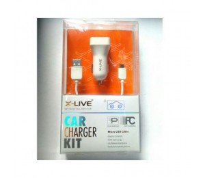 Universal X-Live Car Charger Kit