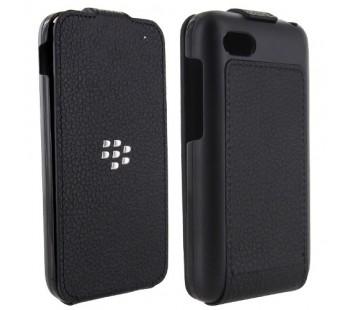 BlackBerry Q5 Leather Flip Shell